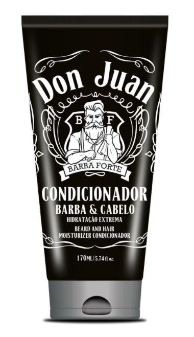 Barba Forte - Don Juan Barba e Cabelo Condicionador Hidratação Extrema 170ml