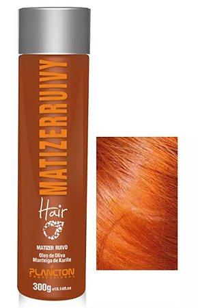 Plancton -  Matizer Hair Ruivo 300g Máscara Matizadora Cobre