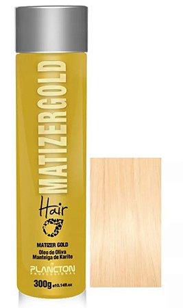 Plancton - Matizer Hair Gold 300g Máscara Matizadora Loiro