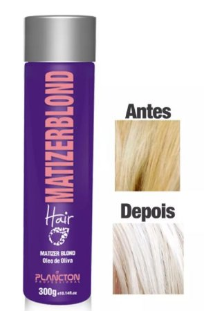 Plancton - Matizer Hair Blond 300g Máscara Matizadora Loiro