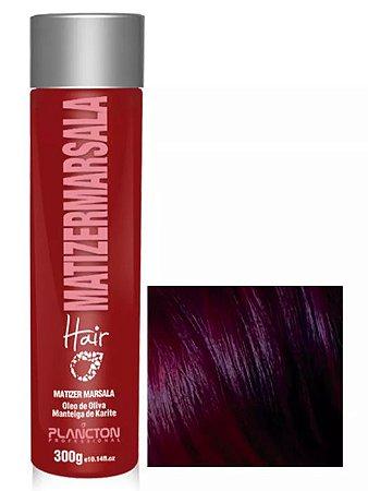 Plancton - Matizer Hair Marsala 300g Máscara Matizadora Marsala