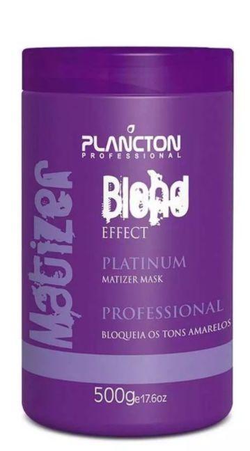 Plancton - Matizer Hair Blond 500g Máscara Matizadora Loiro