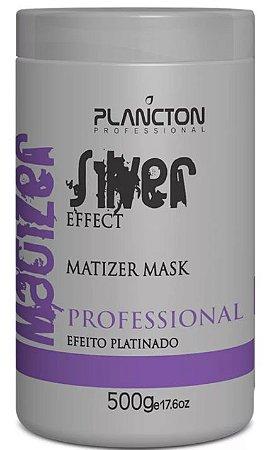 Plancton - Matizer Hair Silver 500g Máscara Matizadora Loiro