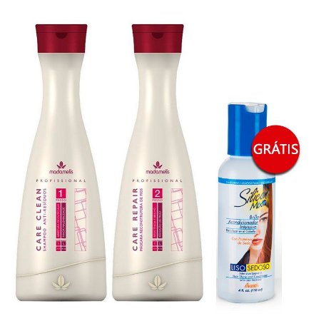 Madame Lis - Escova Progressiva 2 x1L GANHE Leave-in Silicon Mix Avanti 118ml