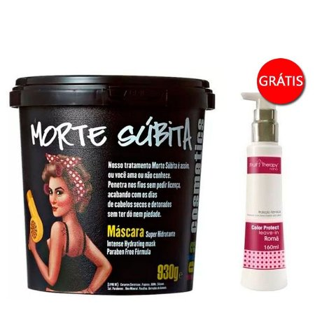 Lola Cosmetics - Morte Súbita Máscara 930g GANHE Leave-in Romã Fruit Therapy