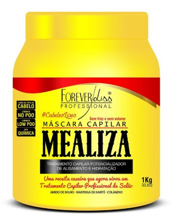 Forever Liss - Mealiza Máscara 1kg