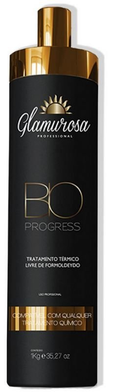 Glamurosa - Bio Progress Escova Progressiva Sem Formol 1lt.