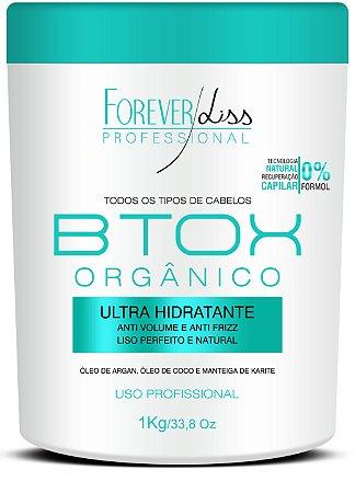 Forever Liss - Btox Orgânico Creme Alisante Sem Formol 1kg