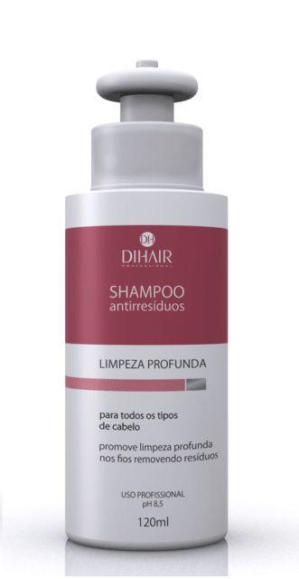 DiHair - Shampoo Antirresíduos Limpeza Profunda 120ml