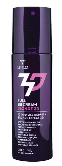 Felithi - Full BB Cream Blonde 3D 10 em 1 200ml