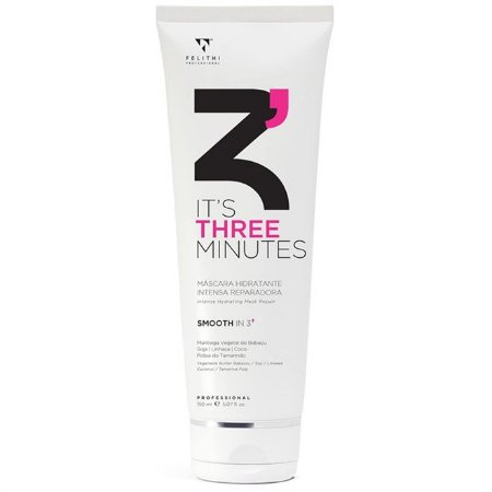 Felithi - It's Three Minutes Máscara Hidratante Intensa Reparadora 150ml