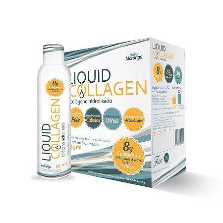 Felithi - Liquid Collagen Colágeno Hidrolisado 6 Unidades 55ml