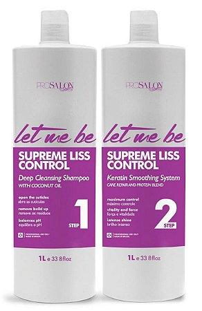 ProSalon - Let Me Be Supreme Liss Control Escova Progressiva 2 Passos 1lt.