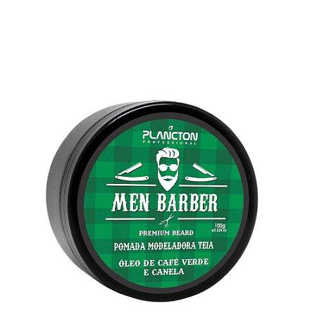 Plancton - Men Barber Pomada Modeladora Efeito Teia 100g