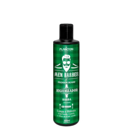 Plancton - Men Barber Higienizador para Barba Co-Wash 300ml