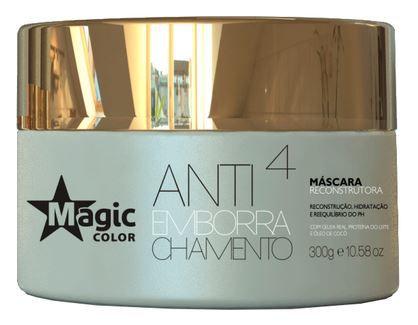 Magic Color - Antiemborrachamento 4 Máscara Reconstrutora 300G