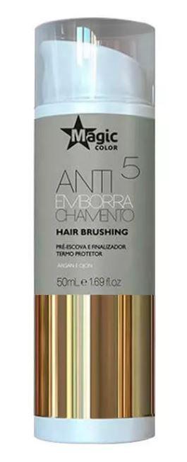Magic Color - Antiemborrachamento 5 Hair Brushing Pré Escova e Finalizador 50ml