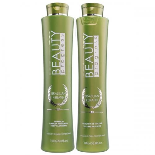 Beauty Impressive - Escova Progressiva Brazilian Keratin 1L cada