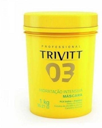 Trivitt - 03 Máscara de Hidratação Intensiva 1Kg