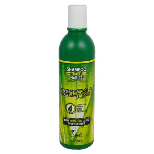 Crece Pelo - Shampoo Tratamento Fitoterápico Natural de Crescimento Capilar 370ml