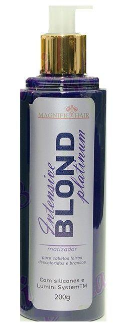 Magnific Hair - Intensive Blond Platinum Matizador 200g
