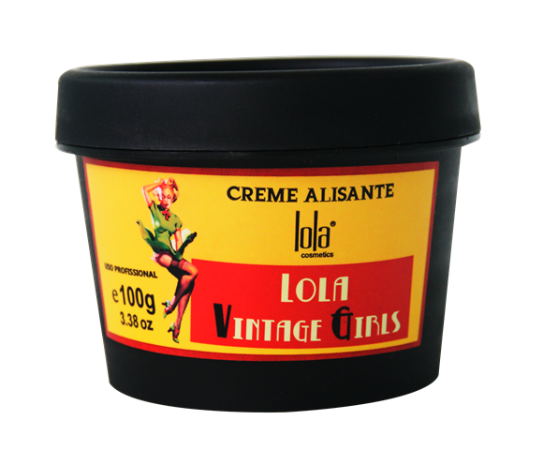 Lola Cosmetics - Creme Alisante Vintage Girls 100g