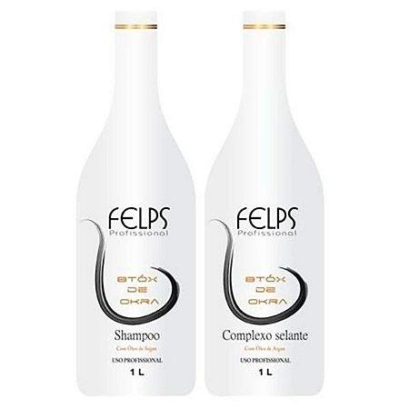 Felps - Okra Escova Progressiva 2 passos
