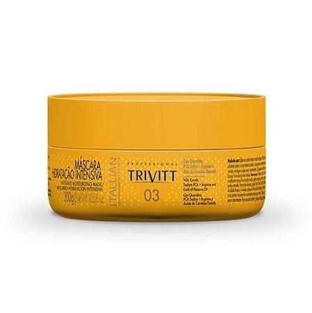 Itallian Hairtech - Trivitt 03 Máscara Hidratação Intensiva 300g