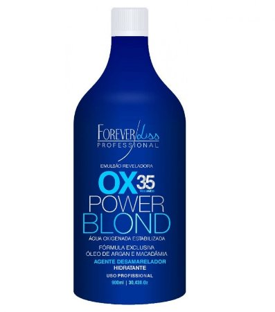 Forever Liss - Power Blond Água Oxigenada OX Matizadora 35 Volumes 900ml