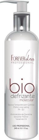 Forever Liss - Bio Defrizante Molecular Escova Temporária 240ml