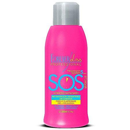 Forever Liss - SOS Antiemborrachamento Reconstrutor Capilar 300ml