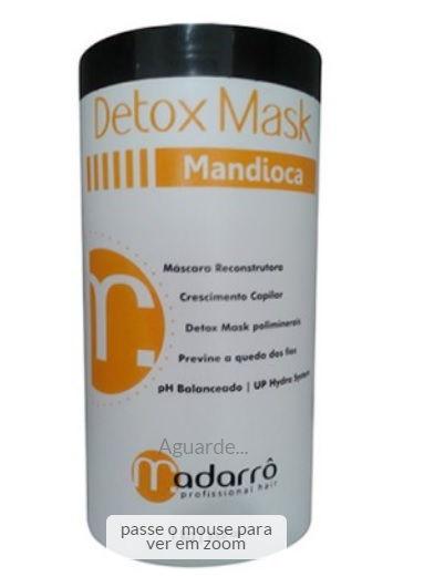 Madarrô - Detox Mask Mandioca Reconstrutor Capilar 1kg