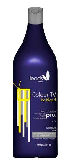 Leads Care - Colour TV Be Blond Máscara Matizadora 950g