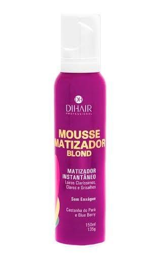 DiHair - Blond Mousse Matizador Instantâneo Loiros Claríssimos, Claros e Grisalhos 150ml
