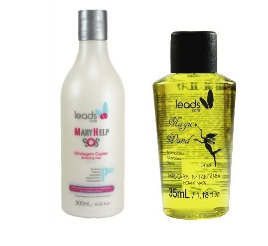 Leads Care - Kit Dueto Mágico Mary Help SOS 500ml e Varinha Mágica 35ml