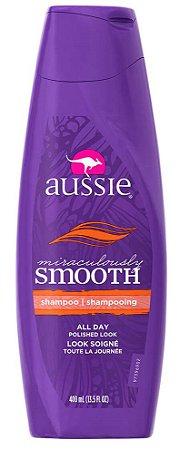 Aussie - Miraculously Smooth Shampoo Revitalizante Cabelos Crespos 400ml