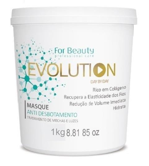 For Beauty - Evolution Máscara Anti Desbotamento Mechas e Luzes 1kg