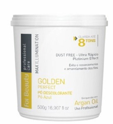 For Beauty - Golden Perfect Pó Descolorante Dust Free Max Illumination 500g