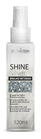 Plancton - Shine Silver Spray Brilho Intenso e Perfume Finalizador 120ml