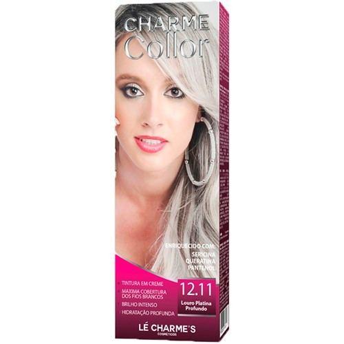 Lé Charme's - Charme Collor 12.11 Tintura Juju Louro Platina Profundo Coloração