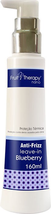 Left - Fruit Therapy Nano Blueberry e Aloe Vera Leave-in Proteção Térmica 160ml