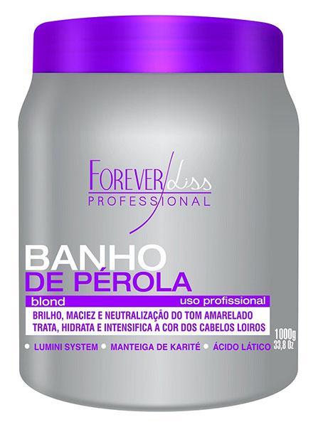 Forever Liss - Banho de Pérola Blond Loiro Brilhante 1kg