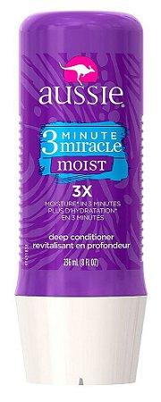 Aussie - 3 Minute Miracle Moist 3X Hidratação aos Cabelos Secos 236ml