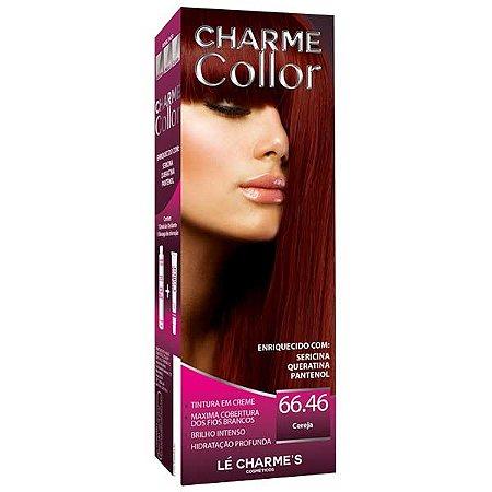 Lé Charme's - Charme Collor 66.46 Tintura Cereja - Vermelho Intenso Coloração