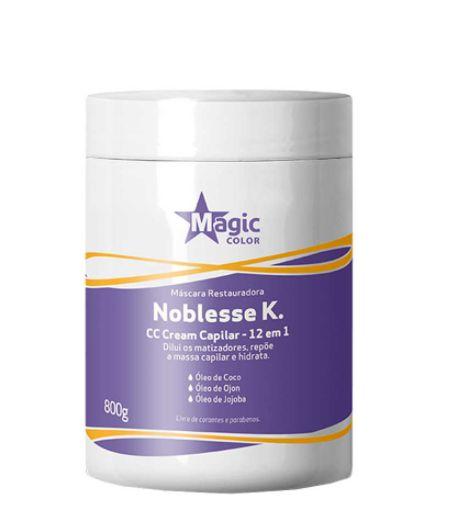 Magic Color - Noblesse K. Máscara Restauradora 12 em 1 CC Cream Capilar 800g