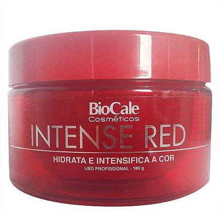 Biocale - Intense Red Máscara Matizadora Cabelo Vermelho e Ruivo 180g
