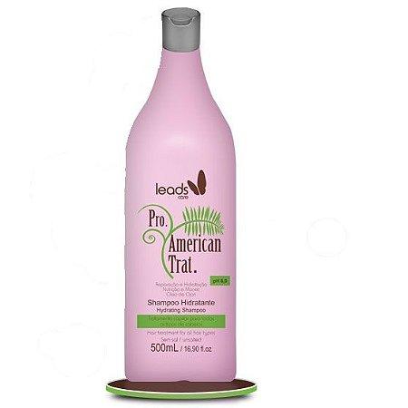 Leads Care - American Trat Shampoo Hidratante 500ml