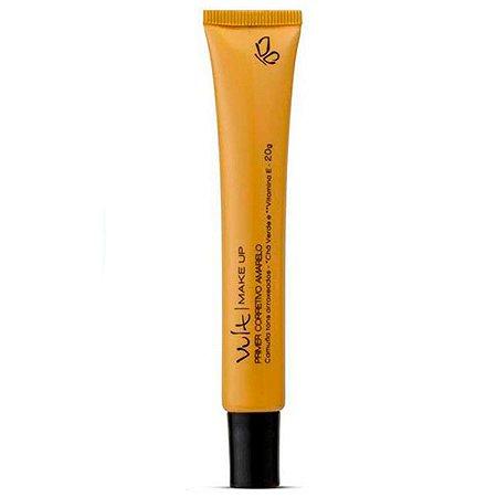 Vult - Primer Corretivo Facial Amarelo 20g Corrige tons arroxeados