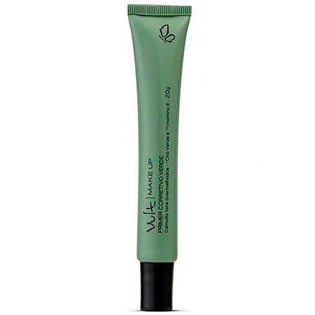 Vult - Primer Corretivo Facial Verde 20g Corrige tons vermelhos