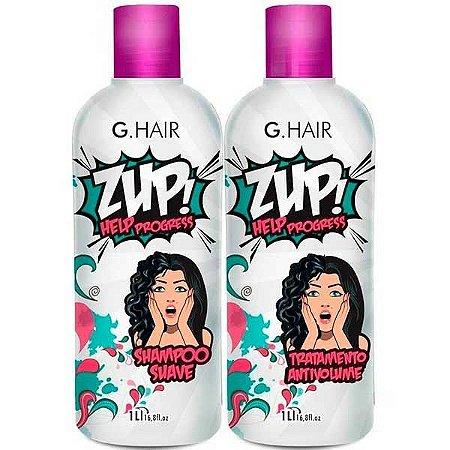 G.Hair - ZUP! Help Progress Escova Progressiva 2 passos 1L